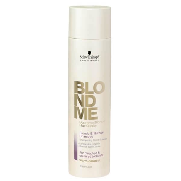 Schwarzkopf Blondme Blonde Brilliance Shampoo Warm - Caramel 250ml