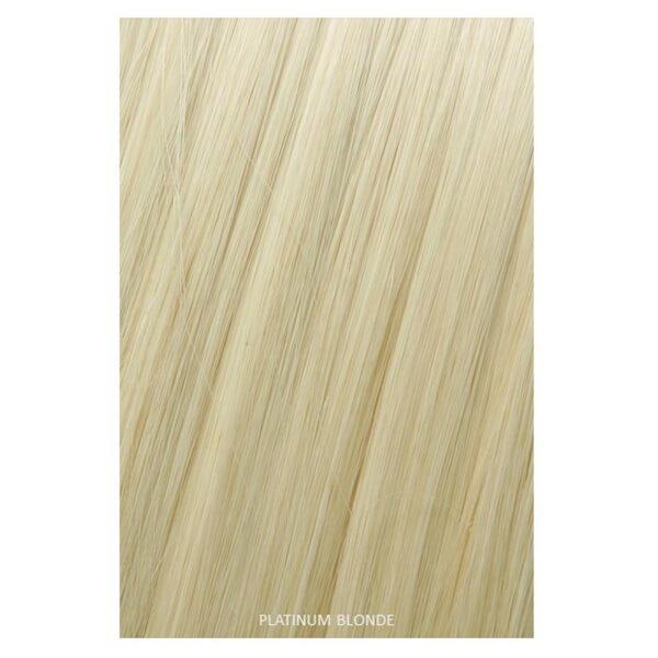 Showpony Professional Heat Resistant Synthetic Ponytail Wrap Style 407 - Platinum Blonde 18 Inches