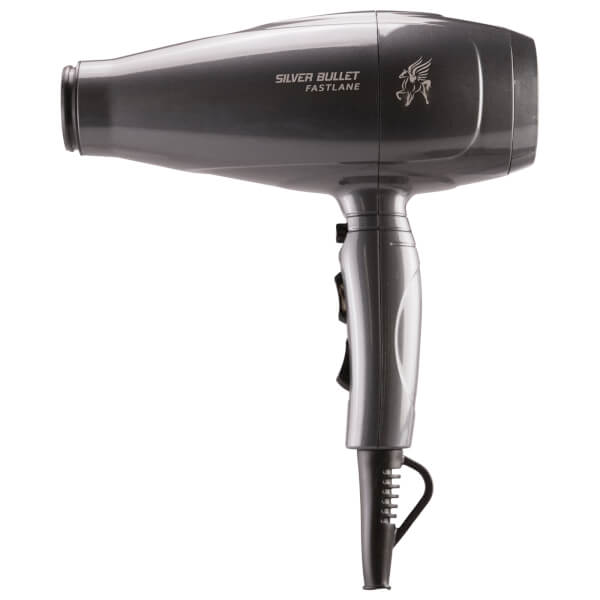 Silver Bullet Fastlane Professional Hair Dryer - Charcoal