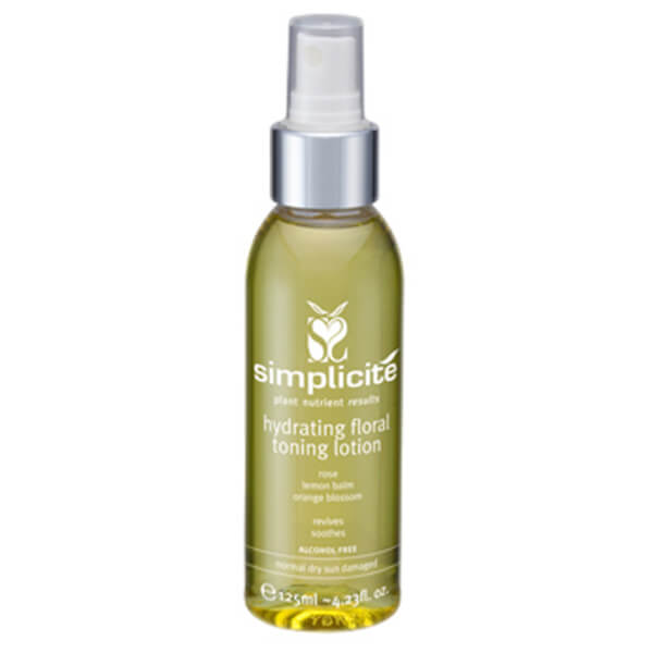 Simplicite Flower Water Toning Lotion Normal/Dry 125ml