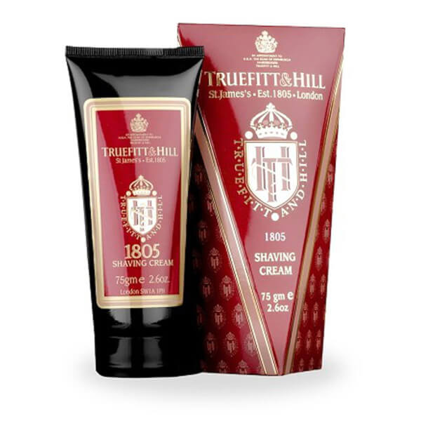 Truefitt & Hill Men's Shaving Cream Tube 1805 75g
