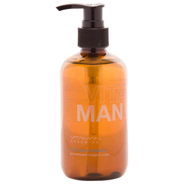 VitaMan Grooming Face And Body Cleanser 250ml