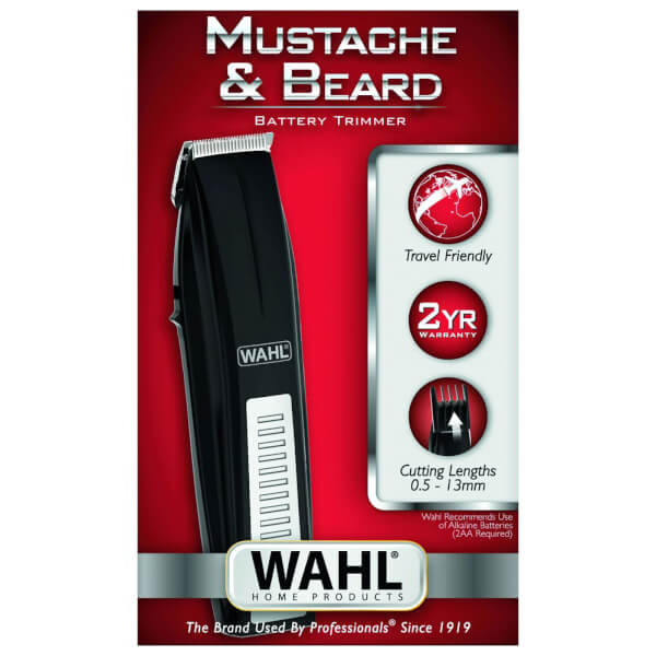 wahl mustache beard battery trimmer recreate yourself nz. Black Bedroom Furniture Sets. Home Design Ideas
