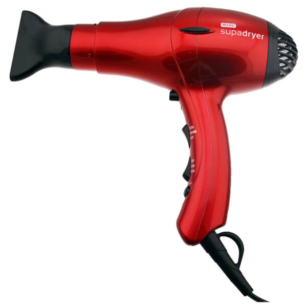Wahl Supadryer 1800 Ionic Hair Dryer Red