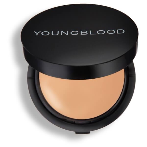 Youngblood Mineral Radiance Creme Powder Foundation - Warm Beige 7g