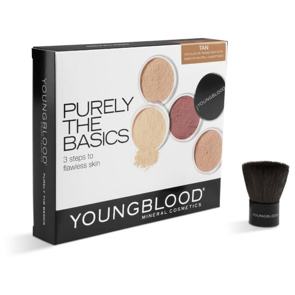 Youngblood Purely The Basics Mineral Kit - Tan