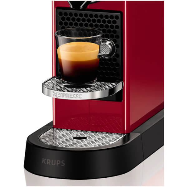 nespresso by krups xn740b40 citiz coffee machine cherry. Black Bedroom Furniture Sets. Home Design Ideas