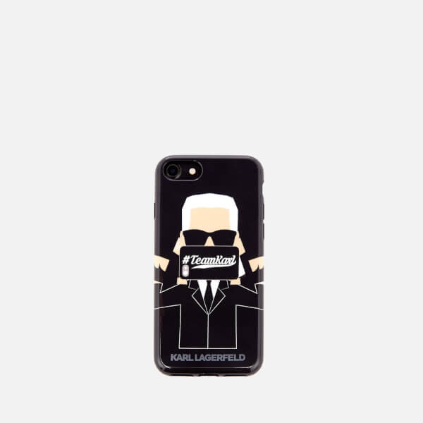 Karl Lagerfeld The Photographer iPhone Case - Clear