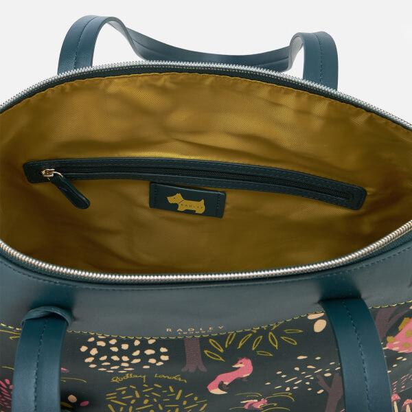 0095c4d2a2 Radley Women's Epping Forest Large Ziptop Shoulder Bag - Pine: Image 5
