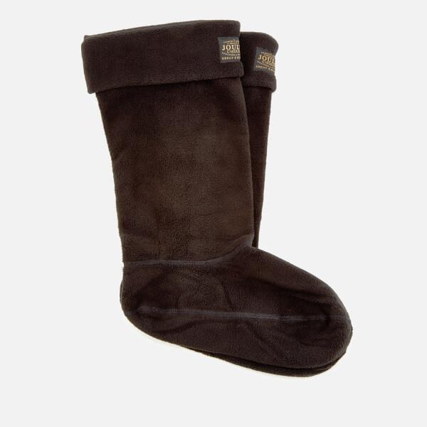 Joules Women's Welton Fleece Welly Socks - Black