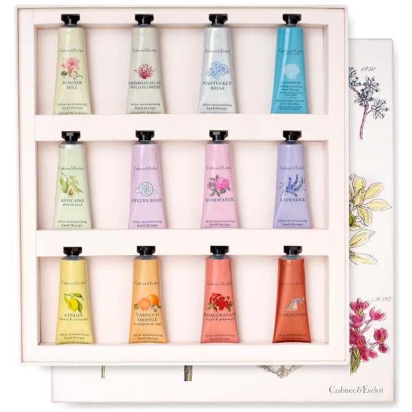 Crabtree & Evelyn Hand Therapy Gift Set 12 x 25g
