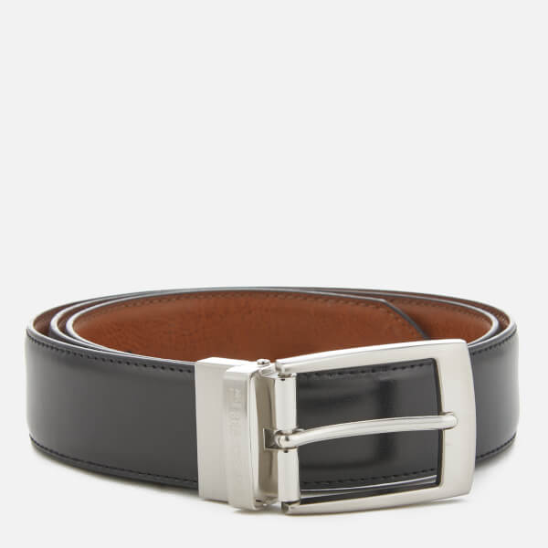 Ben Sherman Men's Sloane Reversible Belt - Black/Tan