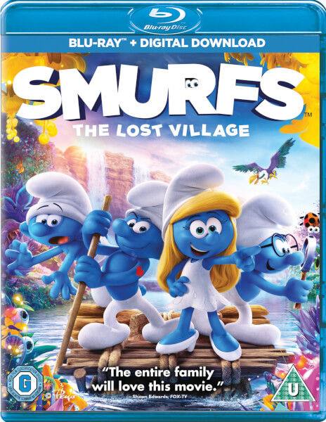Smurfs The Lost Village Blu Ray Zavvi