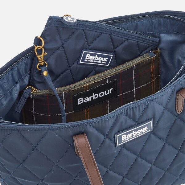 Barbour Women S Witford Small Tote Bag Navy Image 6