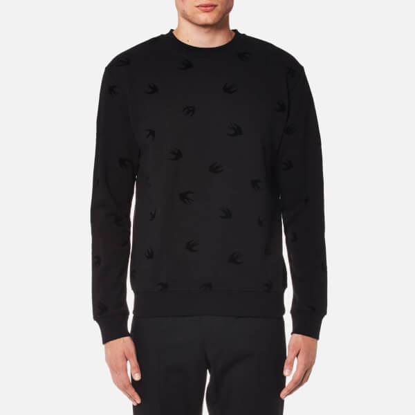 McQ Alexander McQueen Men's Swallow Sweatshirt - Darkest Black