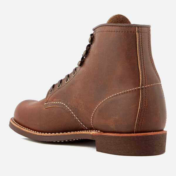 Red Wing Men's Blacksmith 6 Inch Leather Lace Up Boots - - UK 7