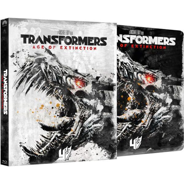 Transformers : l'âge de l'extinction - Steelbook Édition Exclusive Limitée à Zavvi Avec Étui