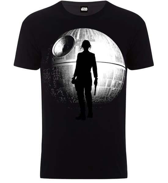 Star Wars Death Star Rogue T-Shirt - Black