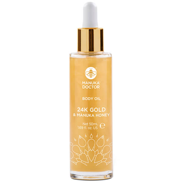 Manuka Doctor 24K Gold & Manuka Honey Body Oil 50ml