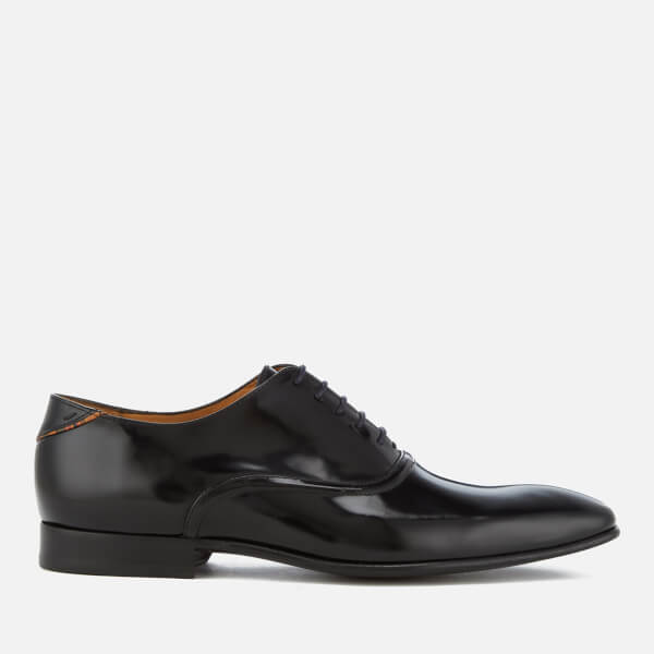 PS by Paul Smith Men's Starling High Shine Leather Oxford Shoes - Black