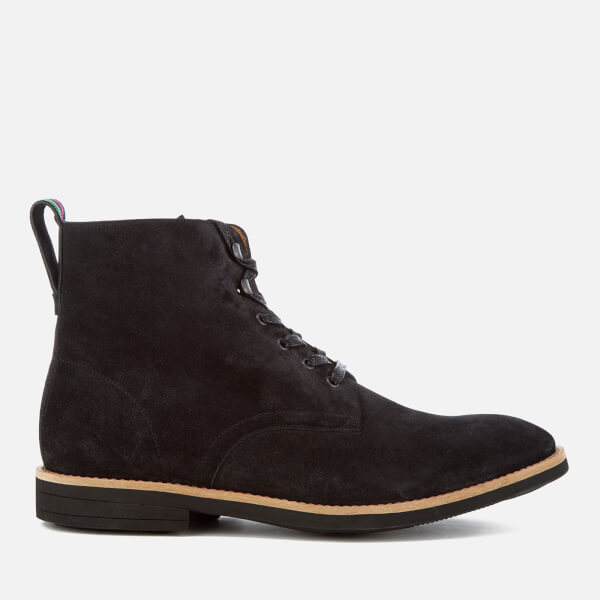 PS by Paul Smith Men's Hamilton Suede Lace Up Boots - Anthracite