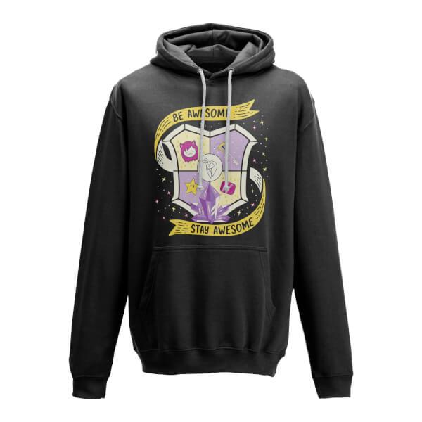 Purple Guild Black Hoody