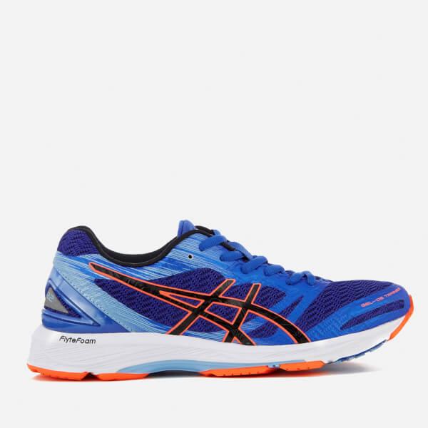 Asics Running Women's Gel DS 22 Trainers - Blue Purple/Black/Flash Coral