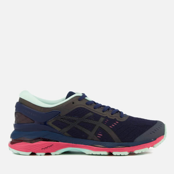 Asics Running Women s Gel Kayano 24 Lite Show Trainers - Indigo  Blue Black Reflective dc600ef163