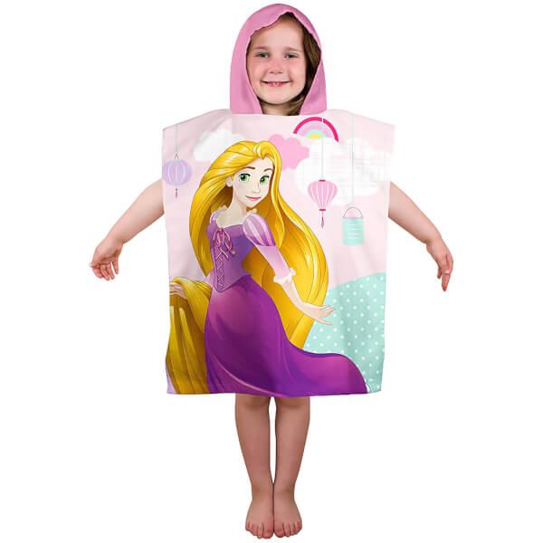Princesse Disney : Serviette Poncho Raiponce
