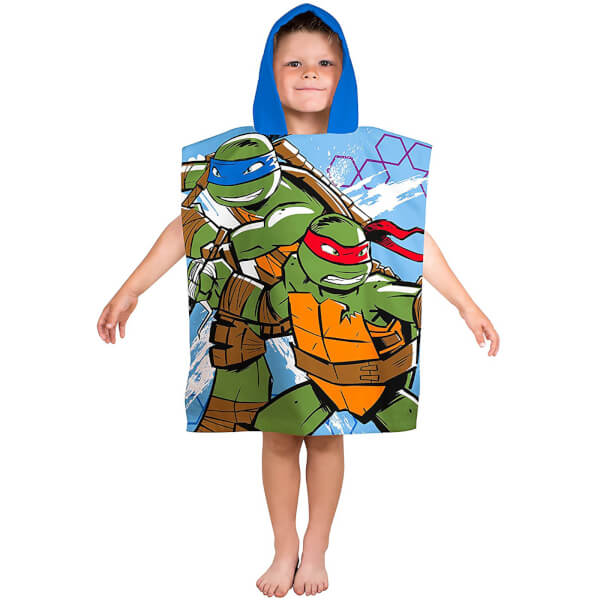 Teenage Mutant Tortues Ninja : Serviette Poncho