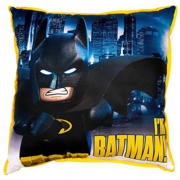 Coussin Réversible Carré LEGO Batman Movie