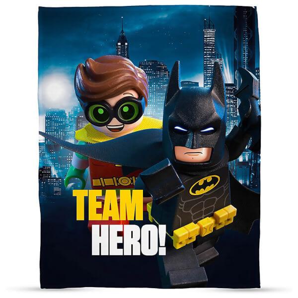 Plaid en Polaire LEGO Batman Movie - 120 x 150cm
