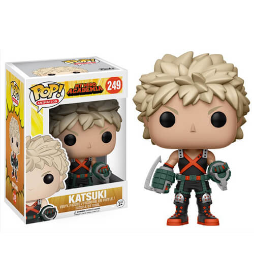 My Hero Academia Katsuki Pop Vinyl Figure Pop In A Box Us