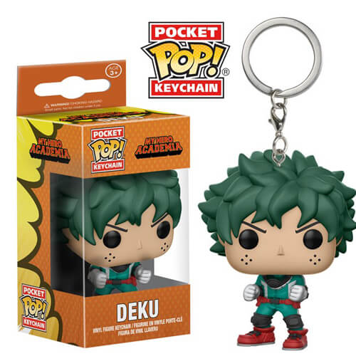 My Hero Academia Deku Pocket Pop! Vinyl Keychain