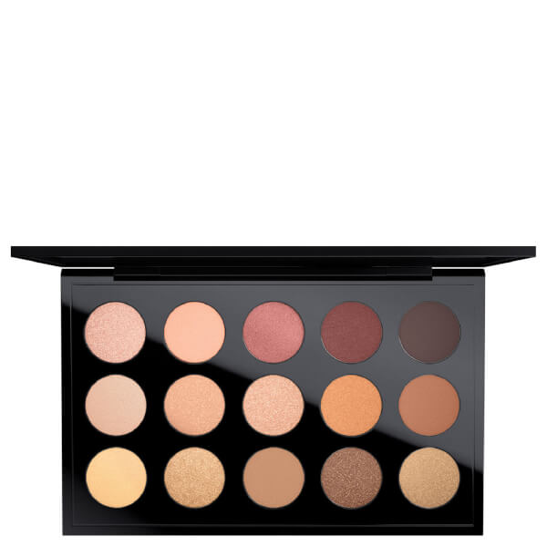 Mac eye shadow x 15 warm palette free shipping lookfantastic mac eye shadow x 15 warm palette altavistaventures