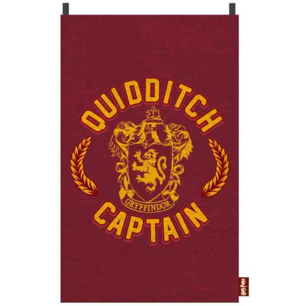 Cape Serviette Capitaine Quidditch Harry Potter