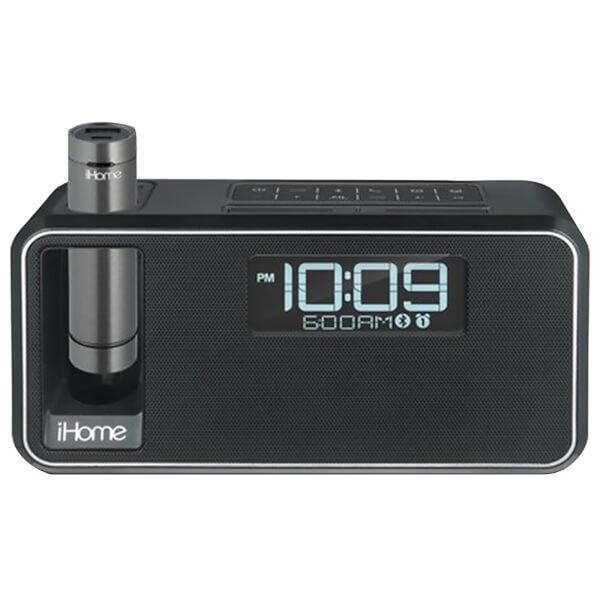 iHome Dual Charge Bluetooth NFC Stereo Alarm Clock - Black