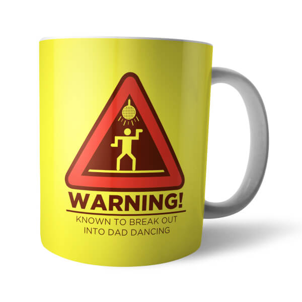 Tasse Warning Dad Dancing