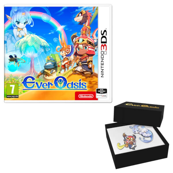 Ever Oasis Fan Pack