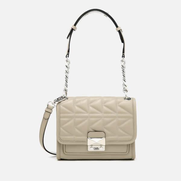 Karl Lagerfeld Women's K/Kuilted Mini Handbag - Earth