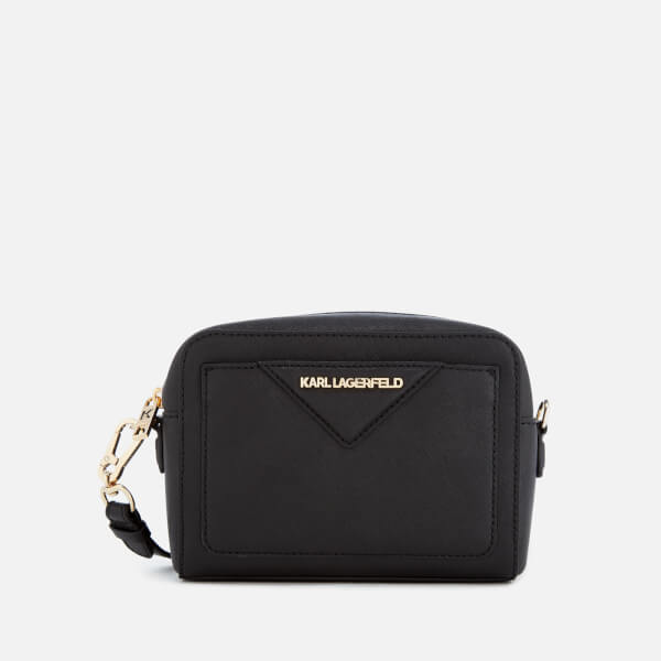 Karl Lagerfeld Women's K/Klassik Camera Bag - Black