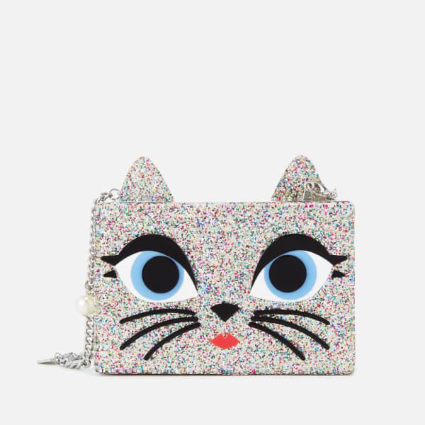 Karl Lagerfeld Women's Choupette Minaudiere Bag - Multi