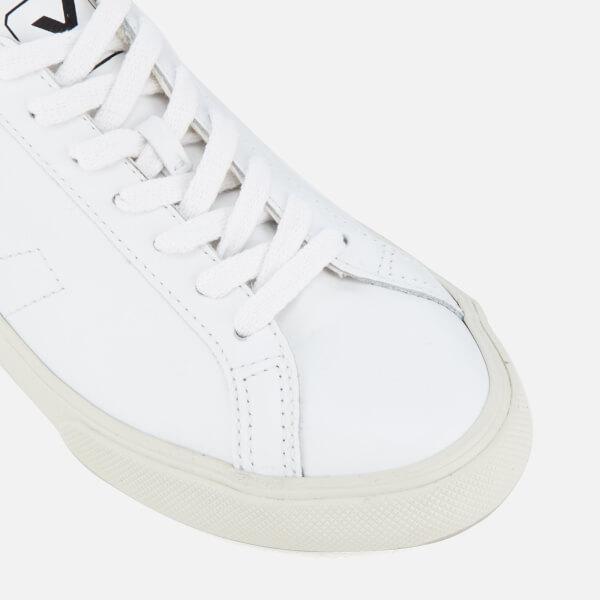 86e49ca8cede6 Veja Men s Esplar Leather Low Top Trainers - Extra White  Image 6