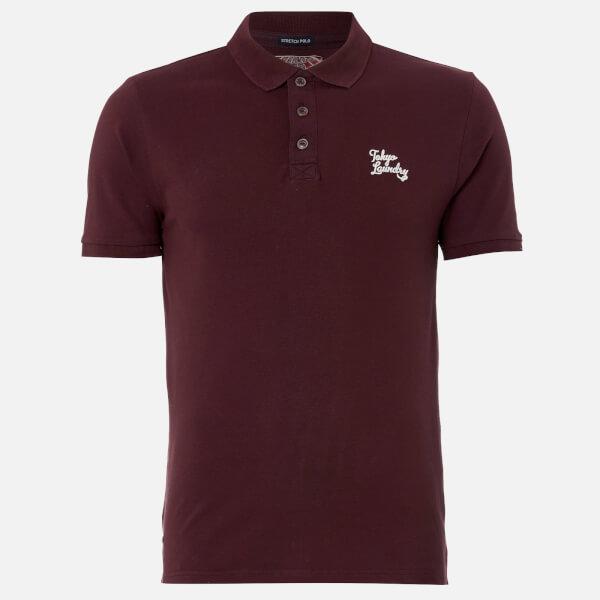 Tokyo Laundry Men's Winterfield Polo Shirt - Winetasting