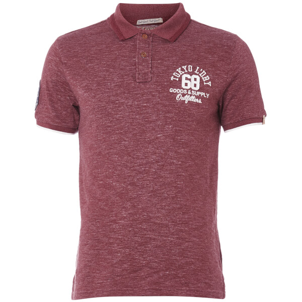 Tokyo Laundry Men's Berling Polo Shirt - Oxblood