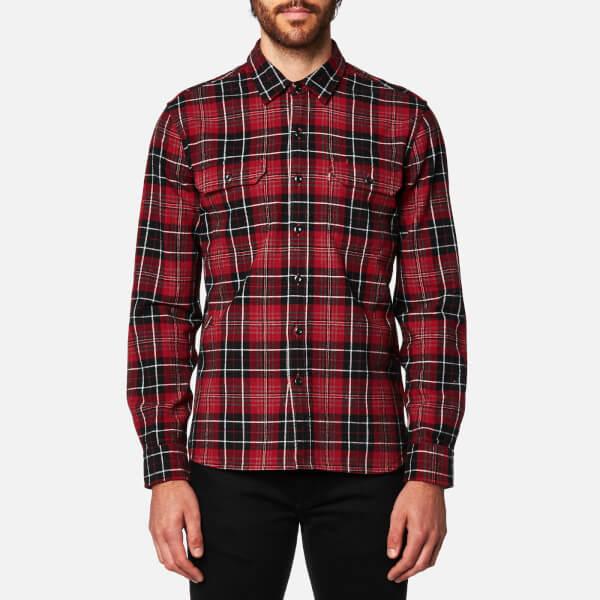 Levi's Men's Jackson Worker Shirt - Tulsi Red Dahila