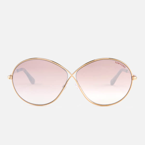 Tom Ford Women's Rania Sunglasses - Shiny Rose Gold/Gradient