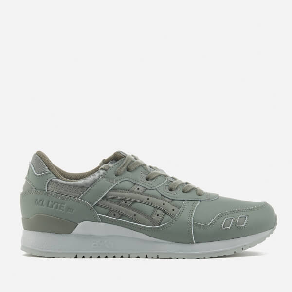 Asics Lifestyle Men's Gel-Lyte III Trainers - Agave Green/Agave Green