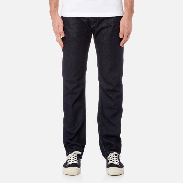 d2802e028b Diesel Men s Waykee Straight Jeans - Blue Mens Clothing