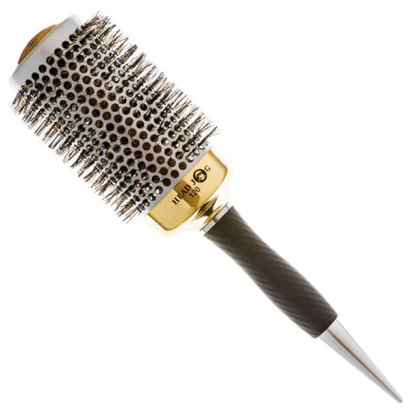 Head Jog 120 Gold Thermal Ceramic Radial Hair Brush - 53mm